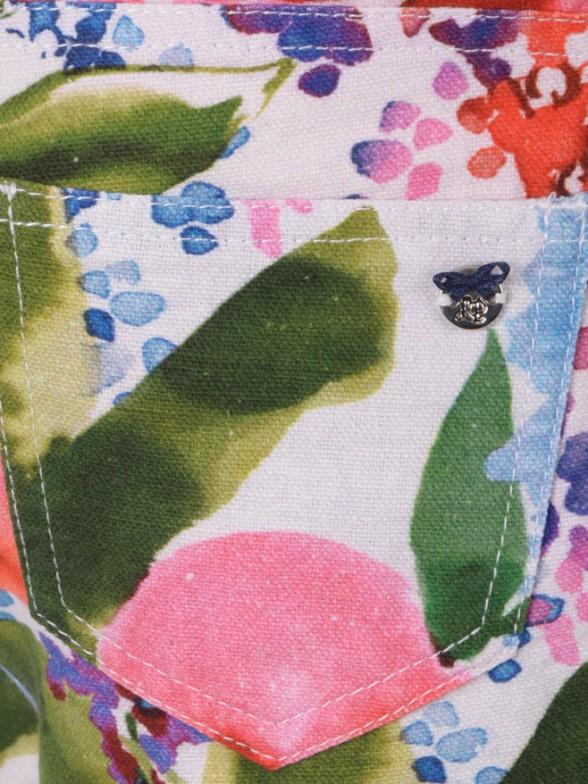 Calção 5 Pocket Flores