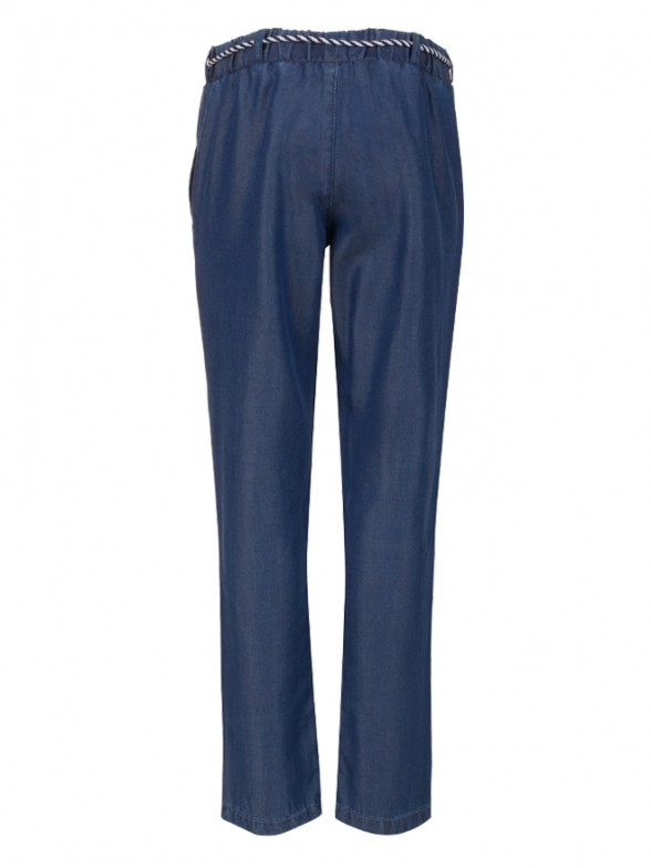 Relaxed denim trousers