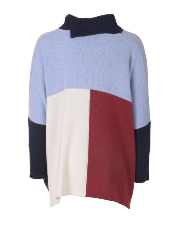 Multicoloured cape