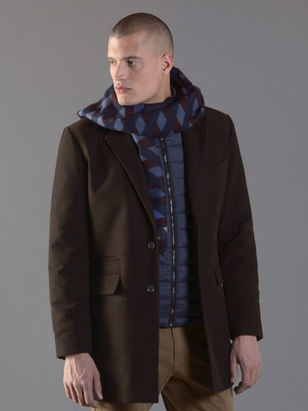 Abrigo y chaquetón 2 en 1