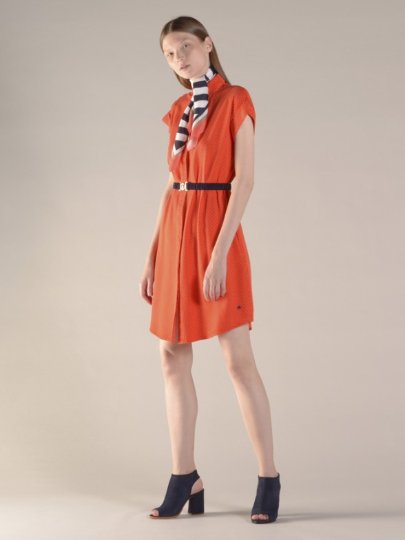 Vestido manga curta
