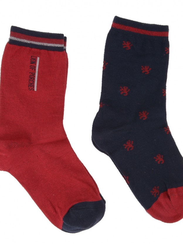 Pack 2 pares meias