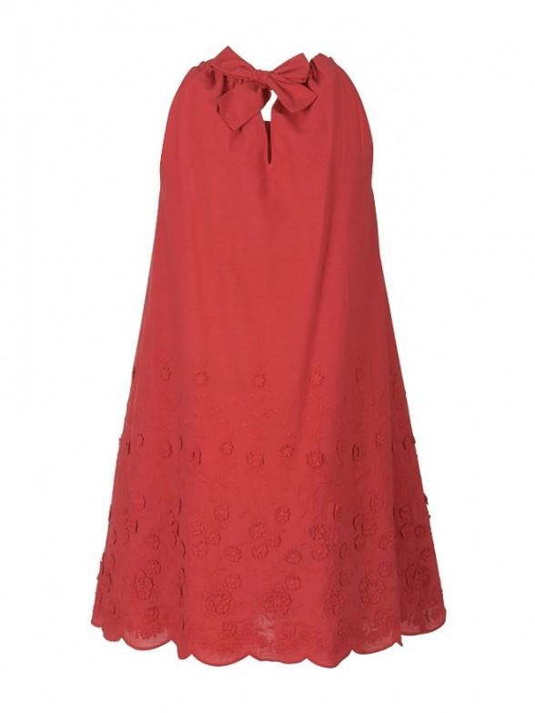 Vestido manga sisa