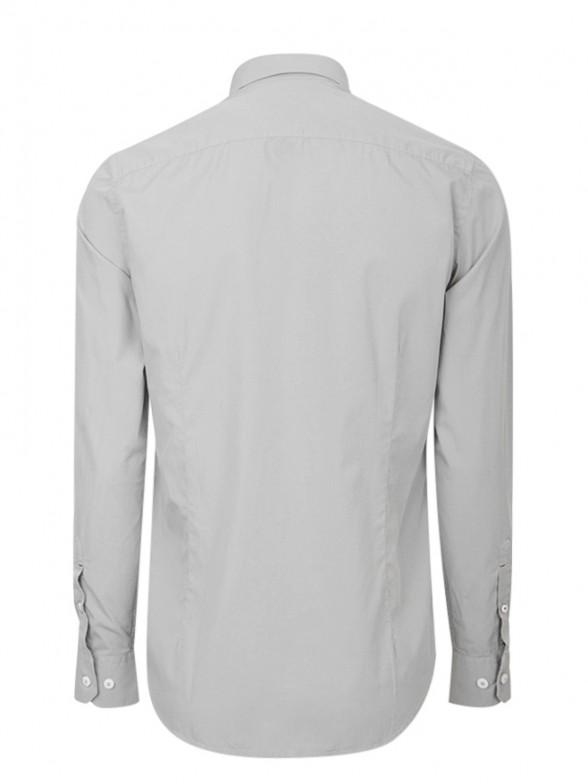 Camisa em tecido popeline