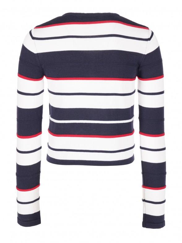 Striped Cárdigan