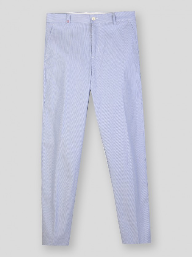 Striped Trousers Chino