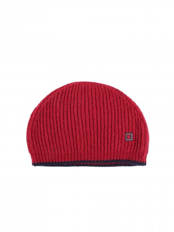 Uk flag knit cap