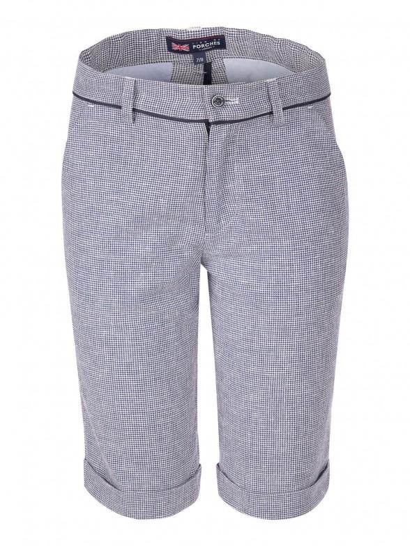 Vichy print shorts