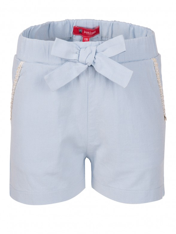 Shorts with bow