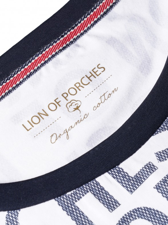 Camiseta algodón organico estampada