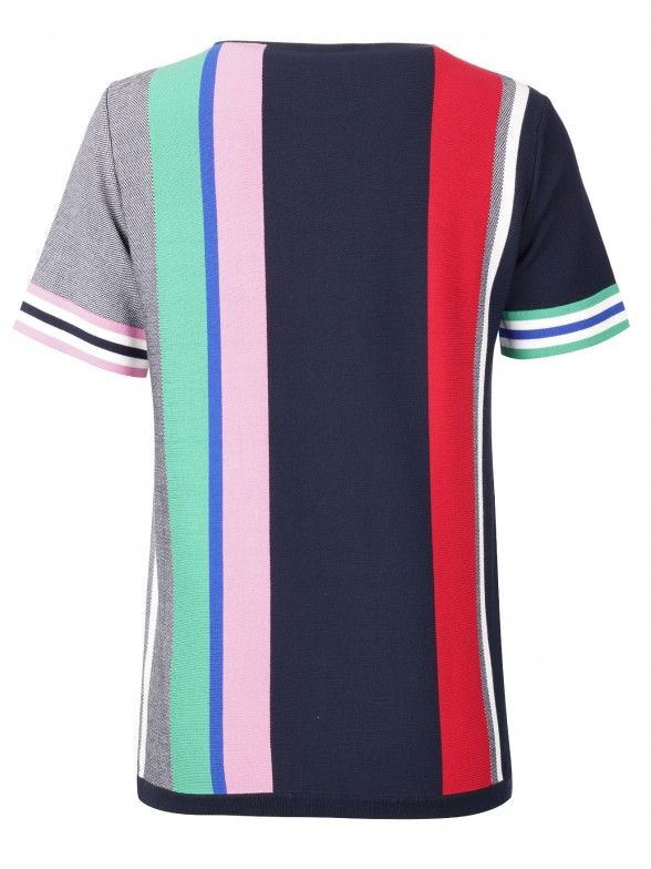 Camiseta de Punto Multicolor