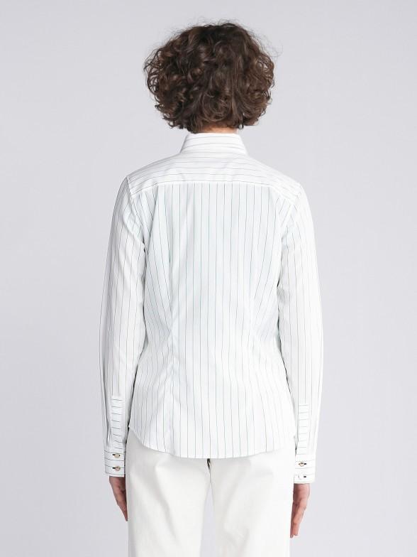 Camisa Riscas Verticais