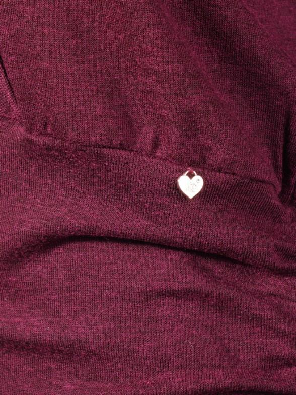 Camisola com detalhe renda