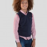 Knitted gilet
