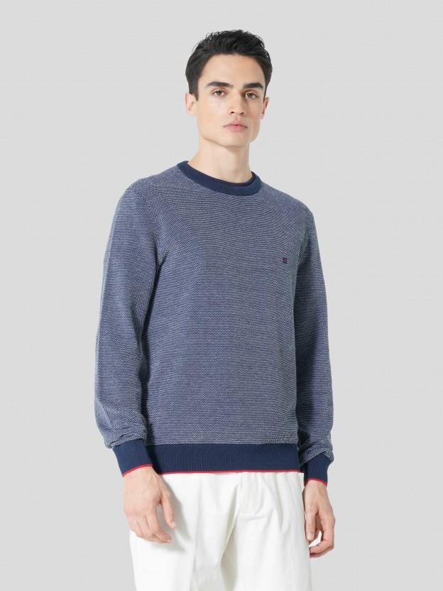 Bicolor Sweater