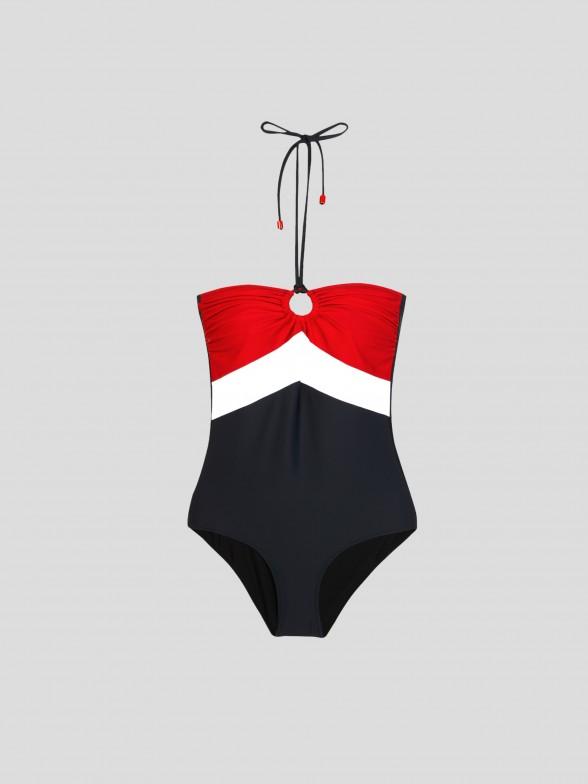 Fato de Banho Tricolor