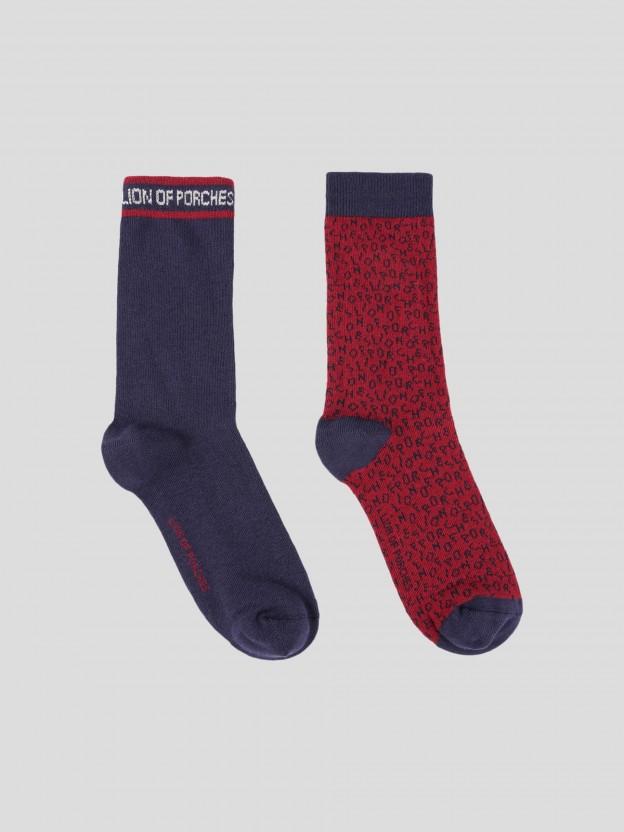 Pack 2 Socks