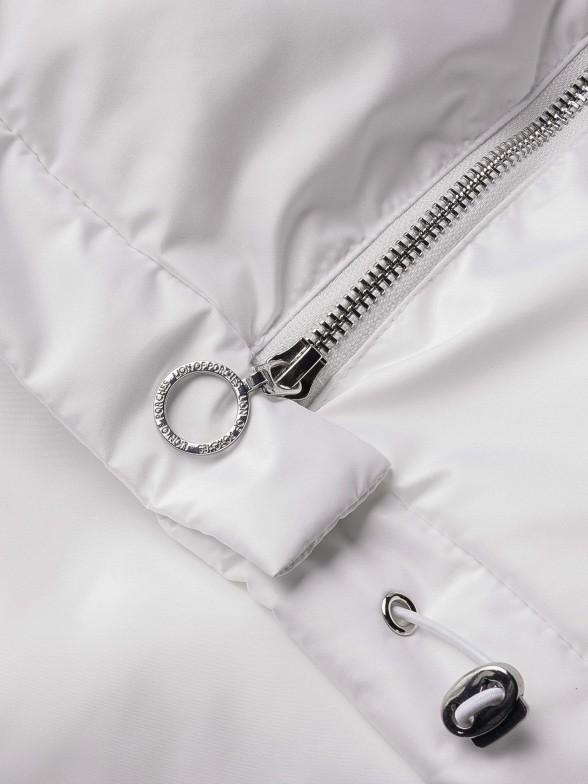 Casaco acolchoado com capuz