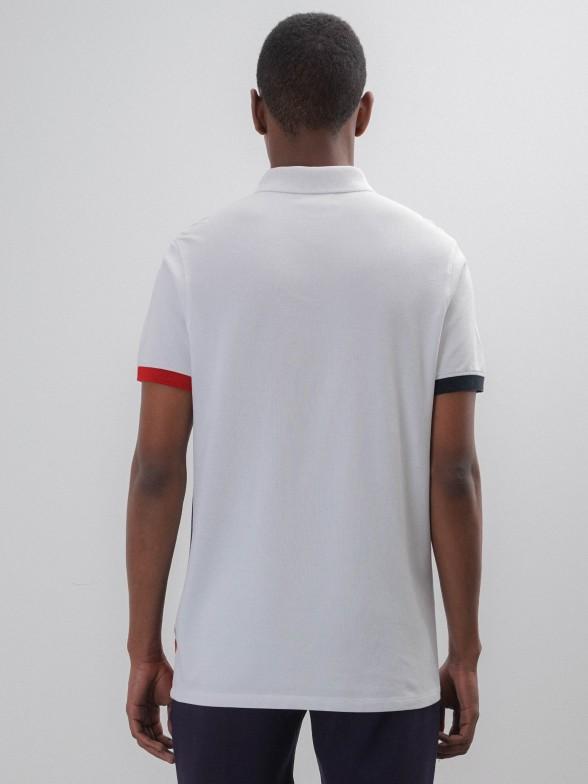 Polo manga curto