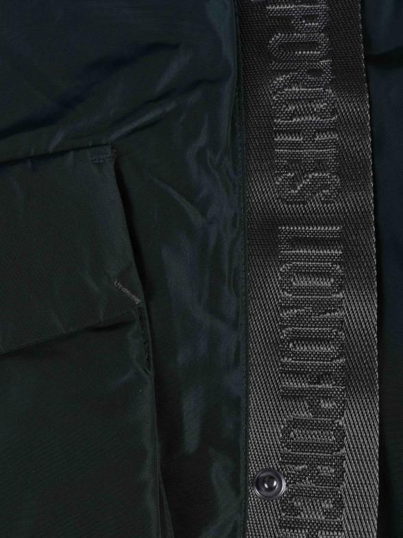 Blusão acolchoado com capuz