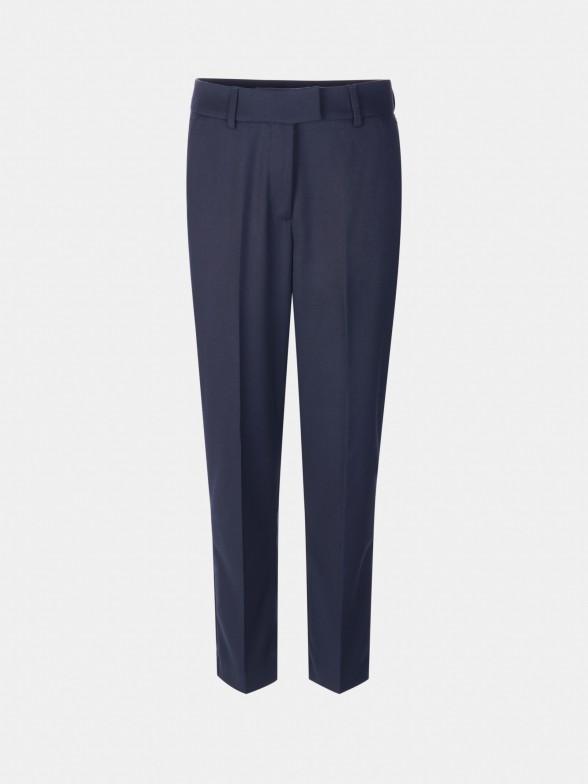 Calças chino azuis regular fit