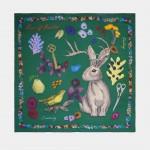 Pañuelo de seda con estampado original