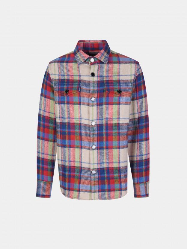 Camisa manga comprida com molas