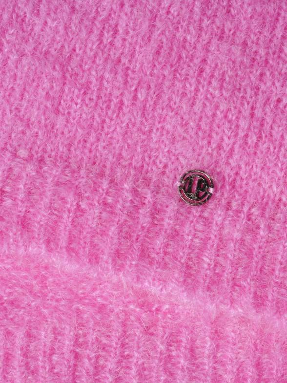 Camisola decote redondo em mohair