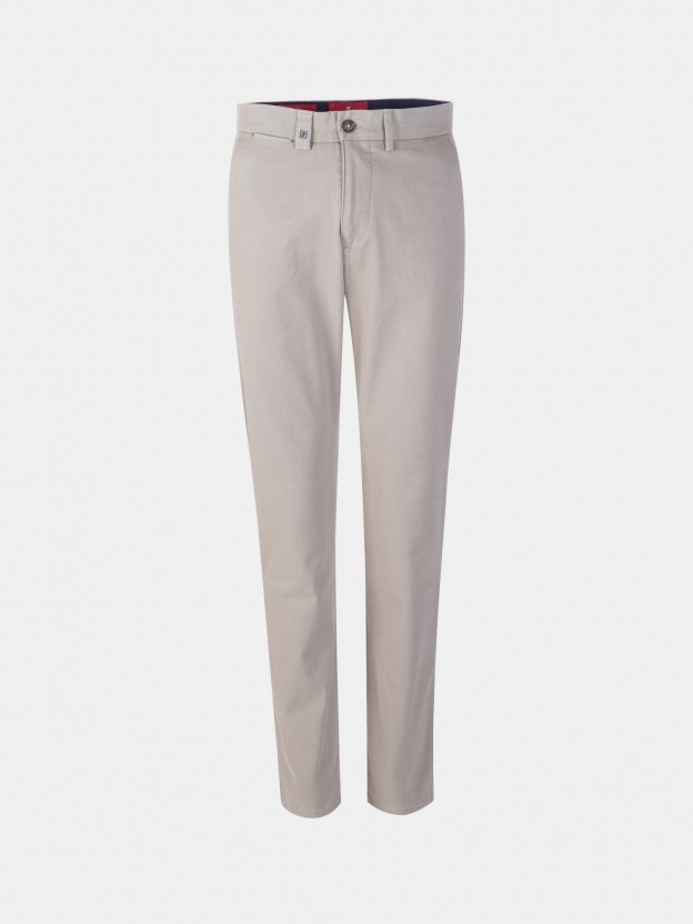Chino trousers slim fit