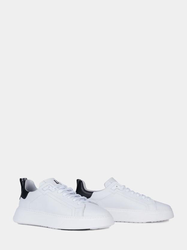 Zapatillas blancas a contraste