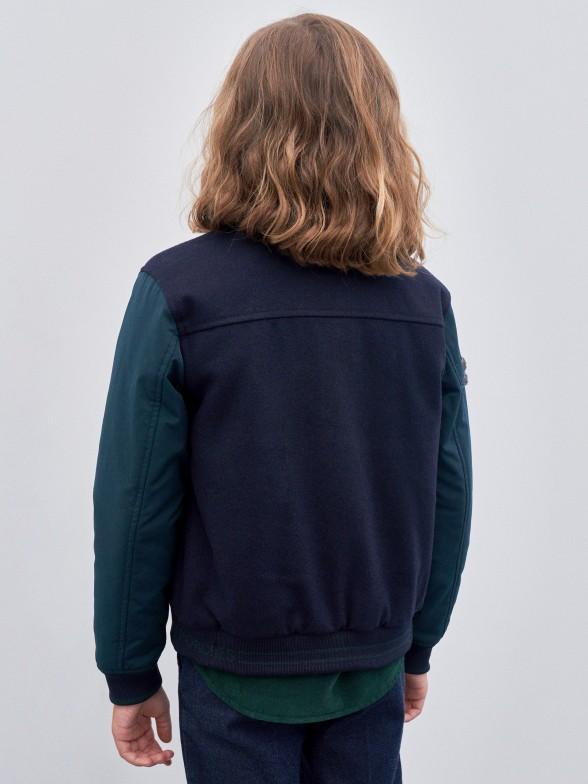 Blusão manga comprida